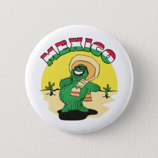 Funny Mexico Button
