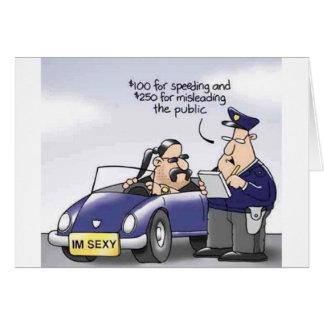 Funny Midlife Crisis Greeting Card