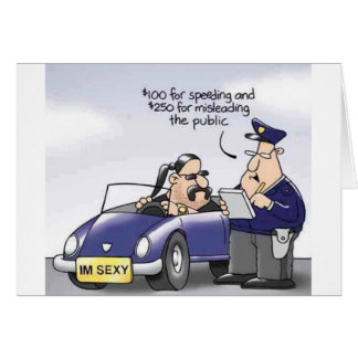 Funny Midlife Crisis Greeting Card
