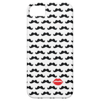 Funny mini mustache with lips for your phone!! iPhone SE/5/5s case