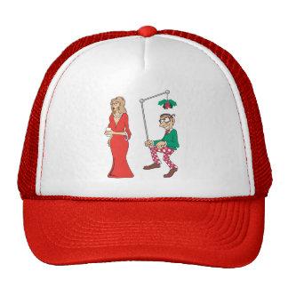 Funny Mistletoe Stalker Hat