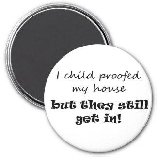 Funny mom gift ideas parenting joke fridge magnets
