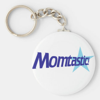 Funny Mom humor Basic Round Button Keychain