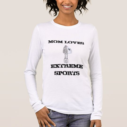 Funny Mom Loves Extreme Sports in the Kitchen Tee