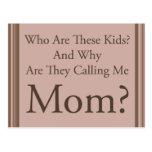 Funny Mom Postcards