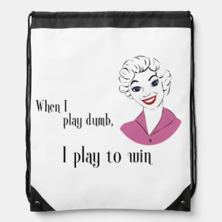 Funny Mom Quote Pack Cinch Bag