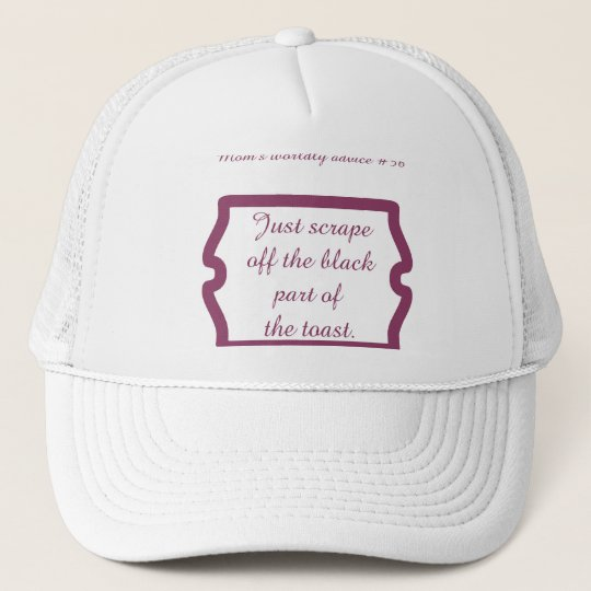Funny mom quotes on t-shirts and gifts for mom. trucker hat