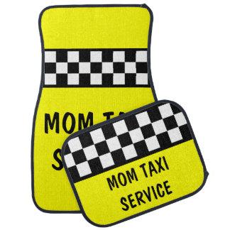 Funny Mom Taxi Service Car Mats Set