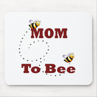 Funny Mom to Be Mouse Pads