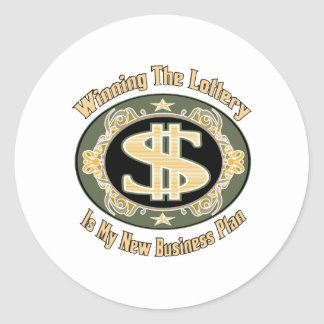 Funny Money Gifts Classic Round Sticker
