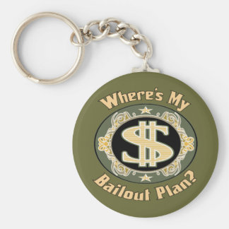 Funny Money Gifts Key Chain