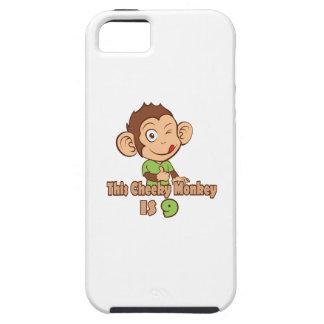 Funny Monkey 9 year old birthday iPhone SE/5/5s Case