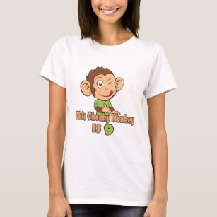Funny Monkey 9 Year Old Birthday T Shirt