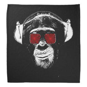 Funny monkey bandana
