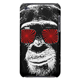 Funny monkey barely there iPod cover