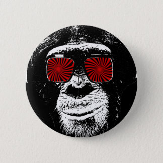 Funny monkey button