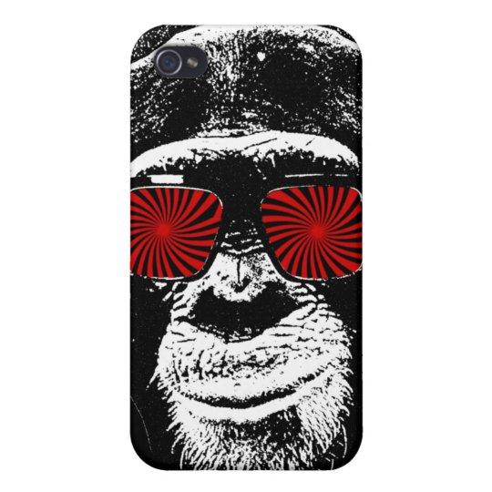Funny monkey iPhone 4/4S case