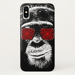 Funny monkey iPhone x case