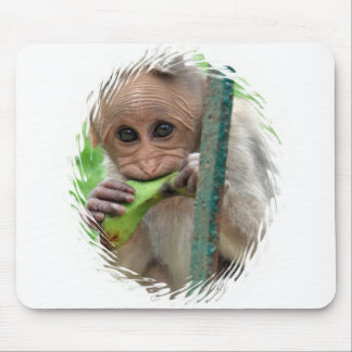 Funny Monkey Picture Mouse Pad
