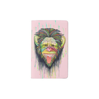 Funny Monkey Pocket Moleskine Notebook