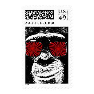Funny monkey postage