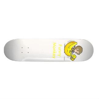 Funny Monkey Skateboard Deck