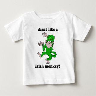 Funny monkey St Patrick's Day Baby T-Shirt