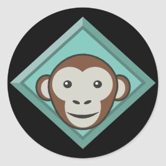 Funny Monkey Stickers