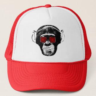 Funny monkey trucker hat