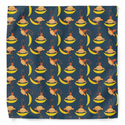 funny monkeys bandana