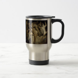 Funny Monkeys:   Monkey Art Critics Travel Mug