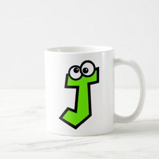 Funny Monogram Letter J Coffee Mug