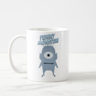 Funny Monster Accessorize Coffee Mug