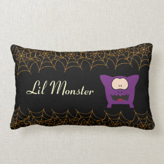 Funny Monster Baby Throw Pillows