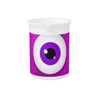 Funny monster eye drink pitcher