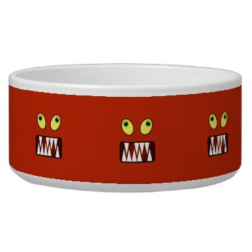 Halloween Themed Funny monster face bowl