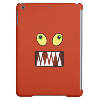 Funny monster face iPad air covers
