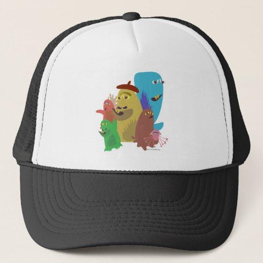 Funny Monster Pals! Trucker Hat