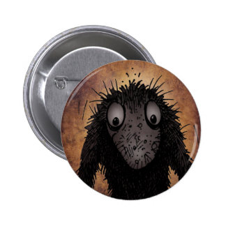 Funny Monster Troll Button