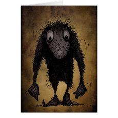 Funny Monster Troll Card