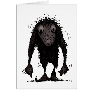 Funny Monster Troll Greeting Cards