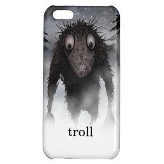 Funny Monster Troll Case For iPhone 5C
