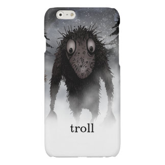 Funny Monster Troll Glossy iPhone 6 Case