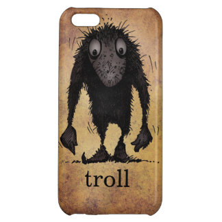Funny Monster Troll iPhone 5C Cases