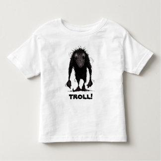 Funny Monster Troll Toddler T-shirt