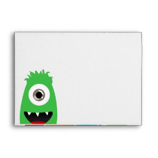 Funny Monsters Envelopes