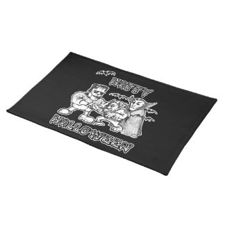Funny Monsters - Happy Halloween Place Mats
