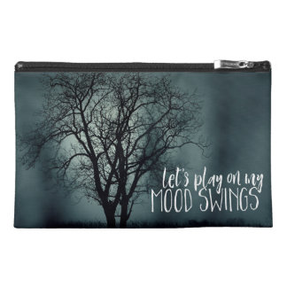 Funny Mood Swings Spooky Tree Photo Travel Accessory Bag