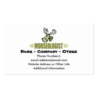Funny Moose Business Card