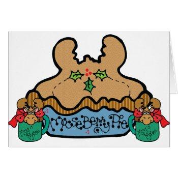 Funny Moose Humor Christmas Card